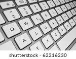 keyboard of a notebook computer.... | Shutterstock . vector #62216230