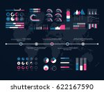 timeline vector infographic....   Shutterstock .eps vector #622167590