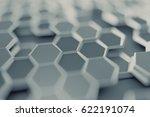 abstract 3d rendering of... | Shutterstock . vector #622191074