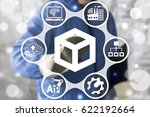 erp   industrial enterprise... | Shutterstock . vector #622192664