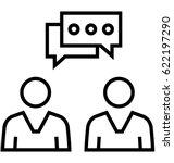 consultant vector icon | Shutterstock .eps vector #622197290