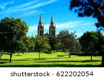 view of st peters cathedral... | Shutterstock . vector #622202054