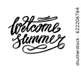 brush lettering composition.... | Shutterstock .eps vector #622206764