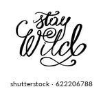 motivation hand drawn poster.... | Shutterstock .eps vector #622206788