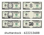 usa banking currency  cash... | Shutterstock .eps vector #622213688
