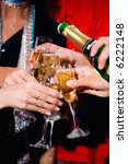 photo of a champagne pouring... | Shutterstock . vector #6222148