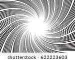 background for comic books.... | Shutterstock .eps vector #622223603