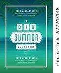 summer sale banner shopping on... | Shutterstock .eps vector #622246148