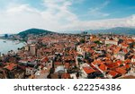 split  old town  croatia. view... | Shutterstock . vector #622254386