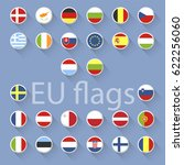 vector set of european union...   Shutterstock .eps vector #622256060