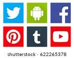 valencia  spain   march 23 ... | Shutterstock . vector #622265378