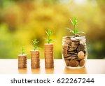 money business success growing...   Shutterstock . vector #622267244