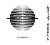 geometric element  symbol ... | Shutterstock .eps vector #622268354
