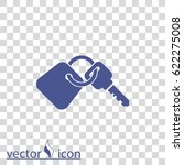 key vector icon | Shutterstock .eps vector #622275008