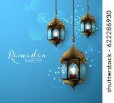 ramadan kareem arabic... | Shutterstock .eps vector #622286930