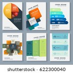 elements for infographics on a... | Shutterstock .eps vector #622300040