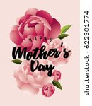 mother's day greetings template ... | Shutterstock .eps vector #622301774