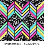 bright seamless geometric... | Shutterstock .eps vector #622301978
