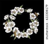 Sakura Spring Wreath. White...