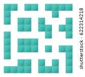 blue constructor element... | Shutterstock .eps vector #622314218