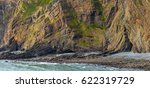 geological outcrops on the... | Shutterstock . vector #622319729