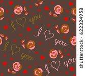 love wrapping design  romantic...   Shutterstock . vector #622324958