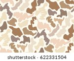 camouflage seamless pattern in... | Shutterstock .eps vector #622331504