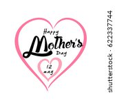 happy mother's day greeting... | Shutterstock .eps vector #622337744