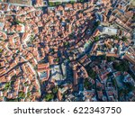 Aerial View Old Town Of Lisbon...
