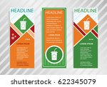 soft drink icon on vertical... | Shutterstock .eps vector #622345079