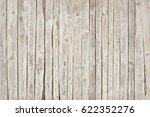 white old wooden fence. wood... | Shutterstock . vector #622352276