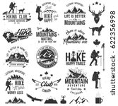 Hiking Club Badges With Design...