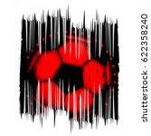 abstract vector illustration... | Shutterstock .eps vector #622358240