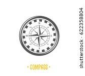 compass illustration | Shutterstock . vector #622358804