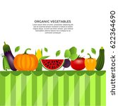 collection of realistic healthy ... | Shutterstock .eps vector #622364690