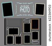 photo album | Shutterstock .eps vector #622364903
