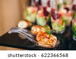 beautifully decorated catering... | Shutterstock . vector #622366568