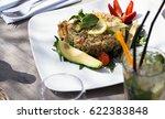 vegetarian food. | Shutterstock . vector #622383848
