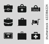 case icons set. set of 9 case...   Shutterstock .eps vector #622386224