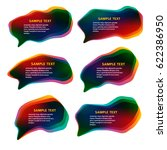 infographic design with color ... | Shutterstock .eps vector #622386950