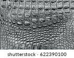 black leather crocodile texture ... | Shutterstock . vector #622390100