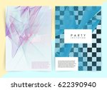 intertwined colorful lines.... | Shutterstock .eps vector #622390940