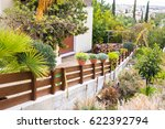 different potted plants and... | Shutterstock . vector #622392794