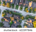 aerial view of residential...   Shutterstock . vector #622397846