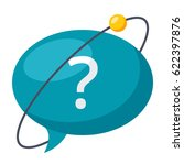 hypothesis concept with speech... | Shutterstock .eps vector #622397876
