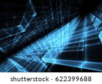 abstract technology illustration   Shutterstock . vector #622399688