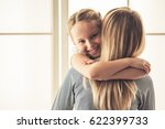 beautiful woman and her cute...   Shutterstock . vector #622399733