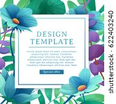 banner design template with... | Shutterstock .eps vector #622403240