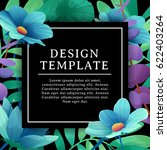 banner design template with... | Shutterstock .eps vector #622403264