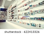 modern pharmacy with variety of ... | Shutterstock . vector #622413326